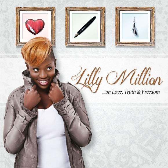 Lilly Million's latest album, ''On Love, Truth & Freedom'' will be available at Word N Sound Series on 2 Feb at the Market Theatre Lab.